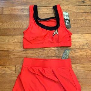 Other - Star Trek TOS Red Two-Piece Swimsuit
